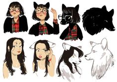 bwoltjen: I made some werewolf characters! here they are as they transition 2 full wolf //werewolf inspiration Character Design Inspiration, Character Design, Artist Inspiration, Character Art, Character Inspiration, Cute Art, Art, Werewolf Art, Creature Design