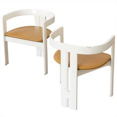 Couple of Pigreco armchairs by Tobia Scarpa for Gavina