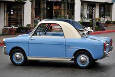 specialcar:  1959 Fiat 500 Autobianchi Bianchina