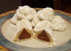 While shortbread-like on the outside, these cookies hold a wonderful surprise within.