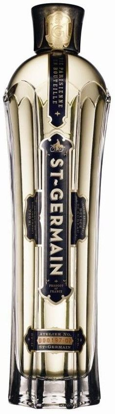 St-Germain is the creation of Robert J Cooper, founder of Cooper Spirits International - the same company that brought one of the other fabulous alcoholic beverages, Chambord.  Found on adrianerdedi.com