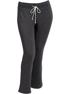 Women's Plus Fleece Sweatpants//Old Navy