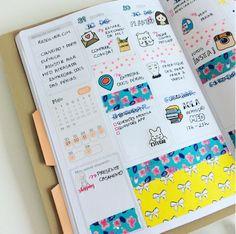 Como transformar seu caderno em uma fonte de criatividade washi tape bullet journal acraft planner atraves da linha