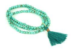 "Náramok ""spirit"" z tyrkysu Tassel Necklace, Beaded Bracelets, Turquoise Bracelet, Tassels, Jewelry, Jewlery, Jewerly, Pearl Bracelets, Schmuck"