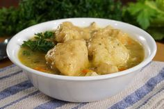Chicken and Dumplings are one of the most comforting foods to eat. The tasty chicken, the sweet veggies, and of course, the dumplings, oh my gosh those dumplings are to die for! And, guess what? They are so easy to make in the Instant Pot! Try this amazingly delicious recipe. via @onehappyhousewife