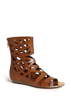 These BCBGeneration 'Aruba' Cutout Bootie Sandals have a great potential to be my new favorite 2014 spring shoes!