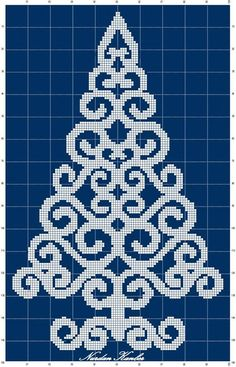 46 Trendy embroidery christmas tree punto croce You are in the right place about wedding details fun Xmas Cross Stitch, Cross Stitch Charts, Cross Stitch Designs, Cross Stitching, Cross Stitch Embroidery, Cross Stitch Patterns, Fuse Bead Patterns, Beading Patterns, Embroidery Patterns