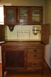 I'm planning on having two hoosier cabinets in my pantry!