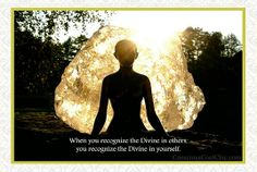 When you recognize the Divine in others, you recognize the Divine in yourself. #consciousness #soul #gratitude