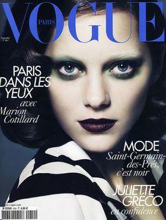 Vogue Paris Septembre 2010 - Marion Cotillard by Mert Alas & Marcus Piggott