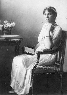 Grand Duchess Olga Nikolaevna of Russia.