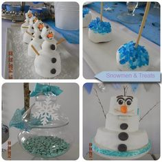 It's Written on the Wall: 39+ Party Ideas for Disney's Frozen ( Movie ) Food, Treats, Drinks and Decorations-Elsa, Anna, Kristoff, Hans & Olaf