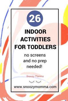 indoor activities for 2 year olds Indoor Activities for Toddlers 18 Month Old Activities, Indoor Activities For Toddlers, Time Activities, Sensory Activities, Parenting Toddlers, Parenting Hacks, Toddler Development, Early Math, Kids Crafts