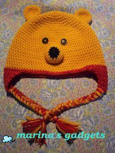 baby hat winnie the pooh cappellino bimbo