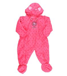 cat suit, spring outerwear, fall outerwear, baby outerwear, pink one-piece