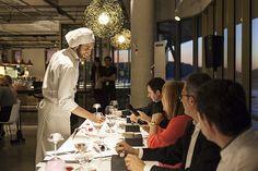 José Francisco Peláez Peña explica sus creación culinaria al jurado. | Flickr - Photo Sharing!