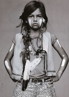 Thylane Blondeau Resurfaces as My Imaginary Well-Dressed Toddler Daughter