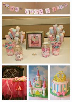 "First birthday party idea - ""One"" Upon a Time"