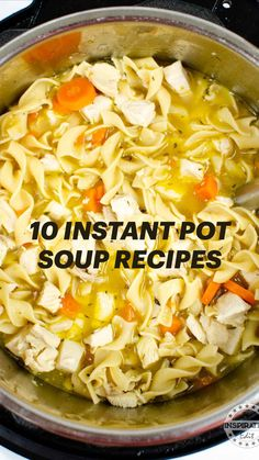 Best Pressure Cooker Recipes, Pressure Cooking, Slow Cooker Recipes, Cooking Recipes, Chicken Soup Recipes, Healthy Eating Recipes, Easy Recipes, Instant Pot, Ham And Potato Soup