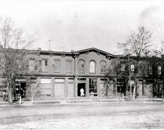 Hilton Ave. stores south of Seventh St. built in 1873 – still there - Garden City NY - Long Island