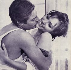 Marcello Mastroanni & Anna Karina - L'Etranger, Visconti (1967)