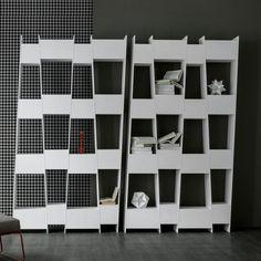 Bibliothèque Tilt, Giuseppe Vigano, Bonaldo,