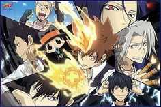 KH Reborn! ~~ Some of the Vongola family members.