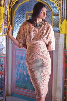 Embroidred Sitara Dress - anthropologie.com