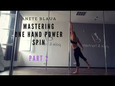 POLE DANCE: MASTERING ONE HAND POWER SPIN - PART 1 - YouTube