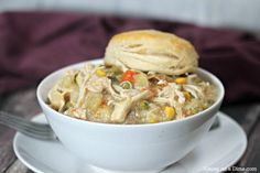 The Best Crock pot Chicken Pot Pie Recipe. You are going to love this easy chicken pot pie recipe. It is our favorite crock pot recipe! Chicken Pot Pie Recipe Crockpot, Best Chicken Pot Pie, Healthy Chicken Recipes, Crockpot Recipes, Cooking Recipes, Meat Recipes, Yummy Recipes, Dinner Recipes, Vegetable Nutrition
