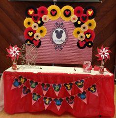 Rosetas Mickey Mouse cumpleaños decoración por LavishInspirations