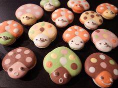 mushroom macarons