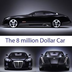 The 8 Million dollar Maybach,   handmade,with 700 horses,I guess the economy is getting better,WOW!!!
