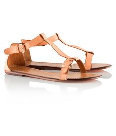 H - Leather sandals