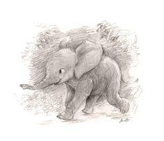 Friday elephant doodle // sydwiki // Illustration by SYDNEY HANSON