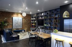 Contemporary Australian design in Michael and Carlene's living room on The Block #theblock #stylecurator #stylecuratorau