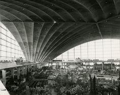 """"""" Vues de l'exposition Floralies, Cnit La Défense, 1959"""""""