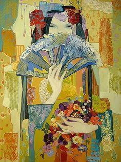 "Maia Ramishvili was born in 1969 in Tbilisi, Georgia. ""The Fan"""