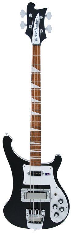 Rickenbacker 4003 Bass Guitar. I came, I saw, I put it on a card.
