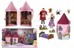 Disney Sleeping Beauty Mini Castle Play Set