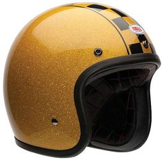The Bell 500 Helmet Series has proven to be exceedingly popular, the combination of retro...modern safety standards...motorcyclists...3/4 face helmet style.