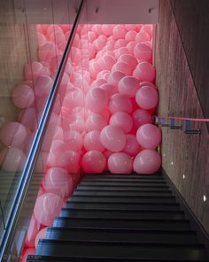 Pink Balloons: Martin Creed, Work No. 329 by w.d.worden #photography   Palloncini Rosa, Fotografia #foto
