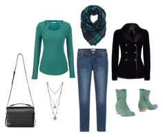 """""""outfit"""" by liliana-vaccara on Polyvore featuring moda, Vic, maurices, Alexander McQueen, AllSaints e Vince Camuto"""