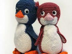 Patrón gratis amigurumi de pingüinos – amigurumis y más