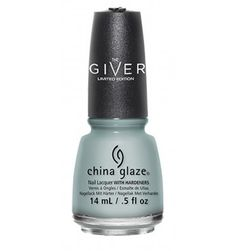 China Glaze Intelligence, Integrity & Courage Nail Polish - The Giver Fall 2014 Collection   NailsAve.com