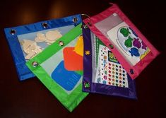 busy bags - this website is awesome with all sorts of educational activities for kids