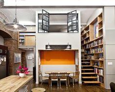 121 | Industrial Loft | Small Space | Studio Apartment | Interior Design