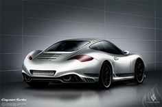 Porsche Cayman Turbo S. A definite addition to my wish list of cars.