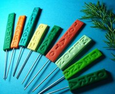 garden plant markers attach to forks