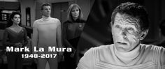 """News - Mark La Mura, who played """"John Doe"""" in the TNG episode """"Transfigurations,"""" has passed away at the age of 68. Read our tribute at..."""